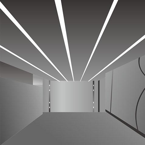 LED Linear Light Housing