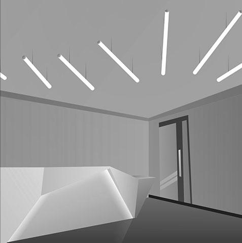 Special Tube Light Housing