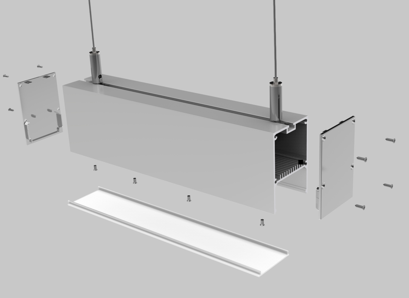 Linear Fixture Housing – PL004