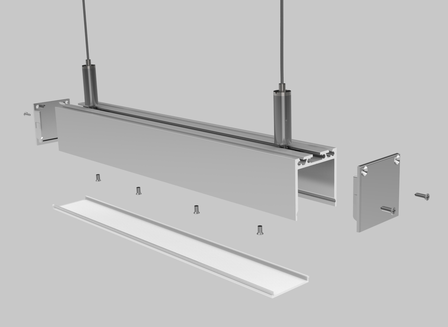 Linear LED Housing – PL005