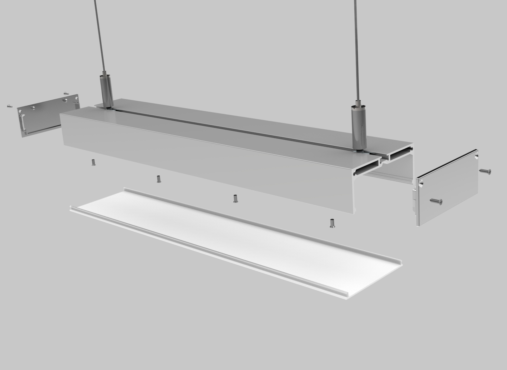 Linear Light Housing – PL006