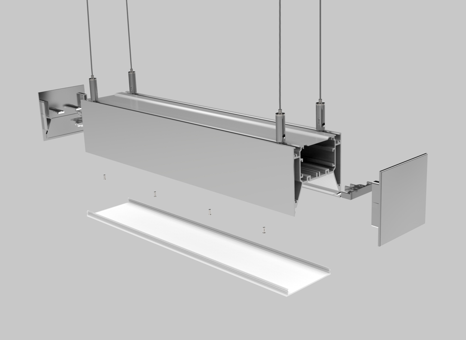 LED Linear Light Housing – PL008