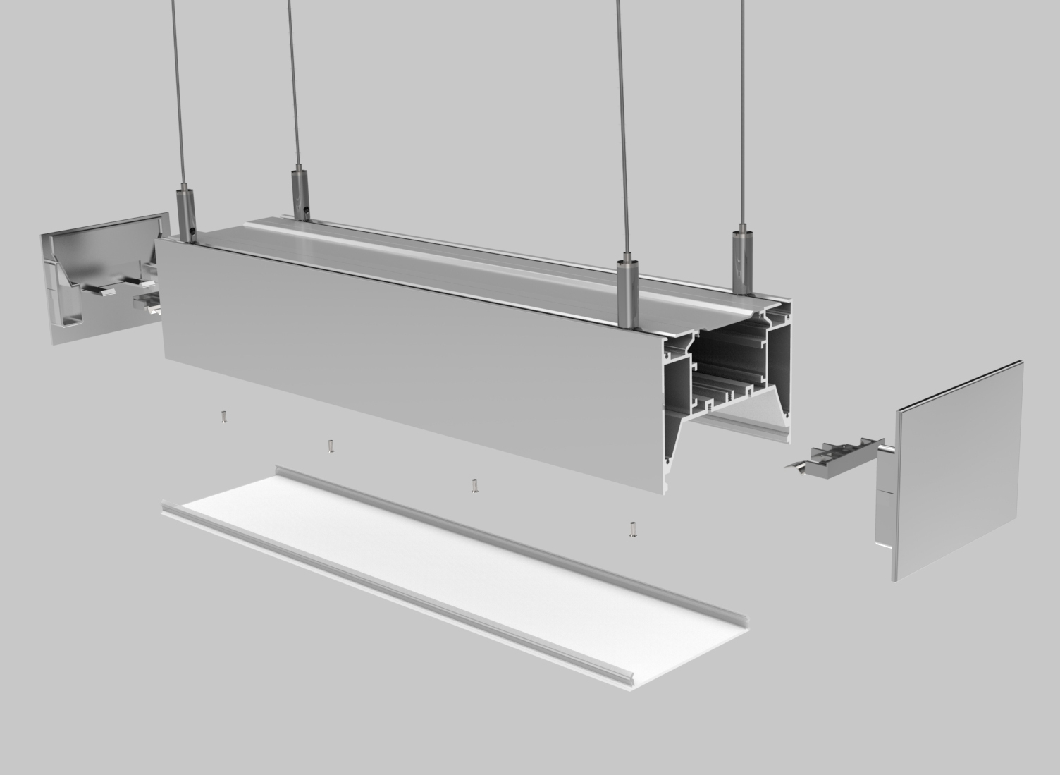 Linear Lighting Housing – PL009
