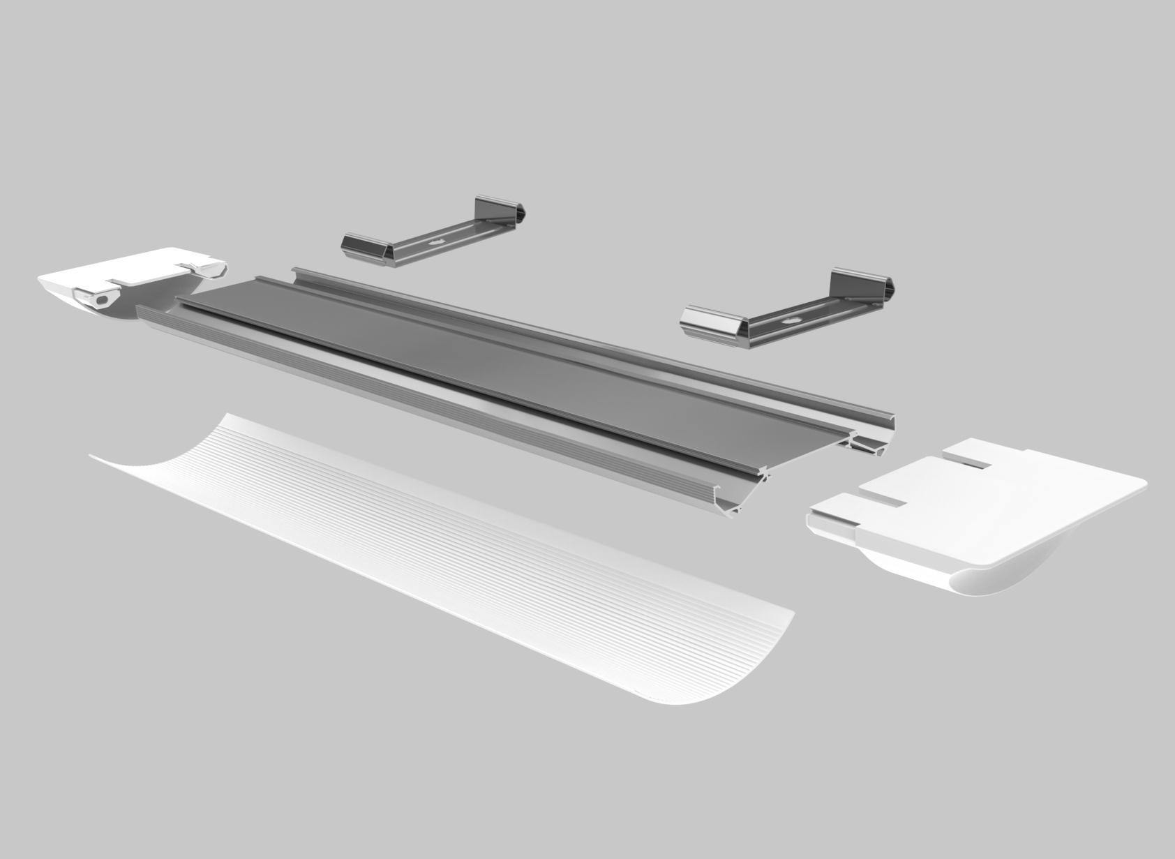 LED Tube Light Housing – Y031