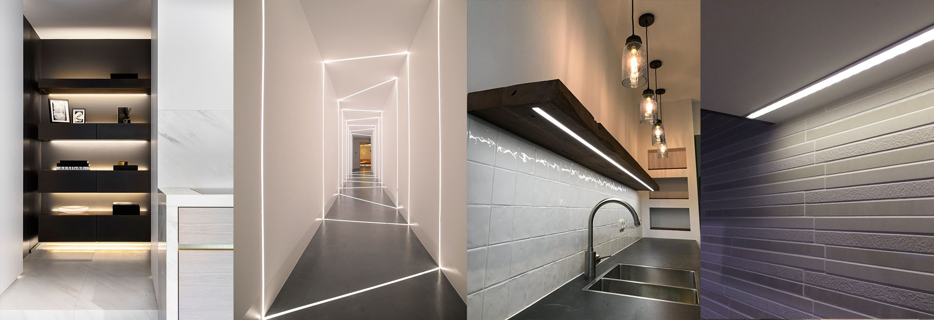 Application of strip light profile