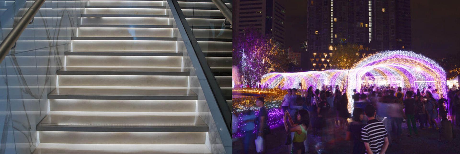 Application of housing for 8ft strip light