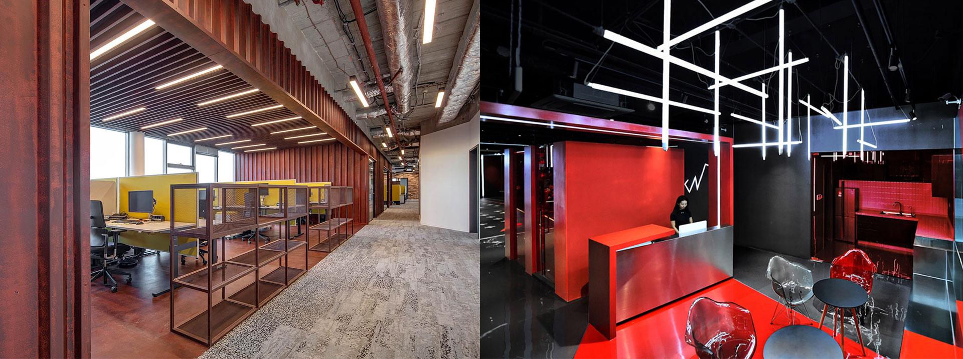 Application of LED 4ft tube light housing