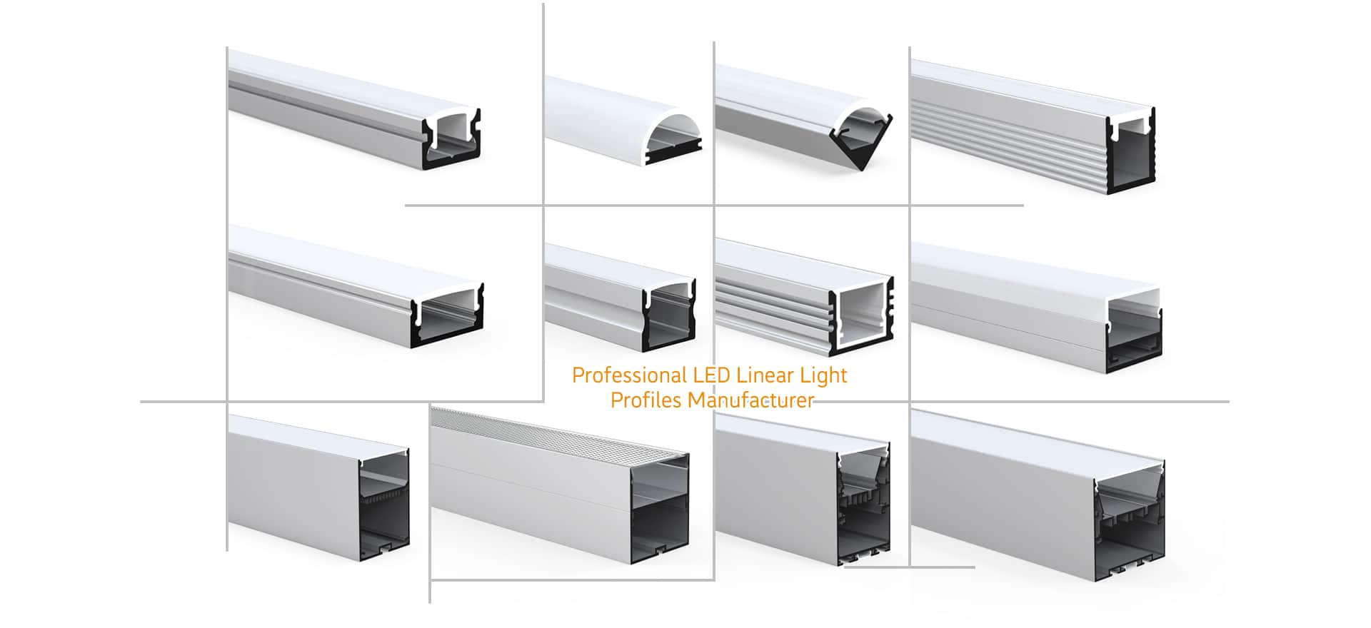 LED light profile