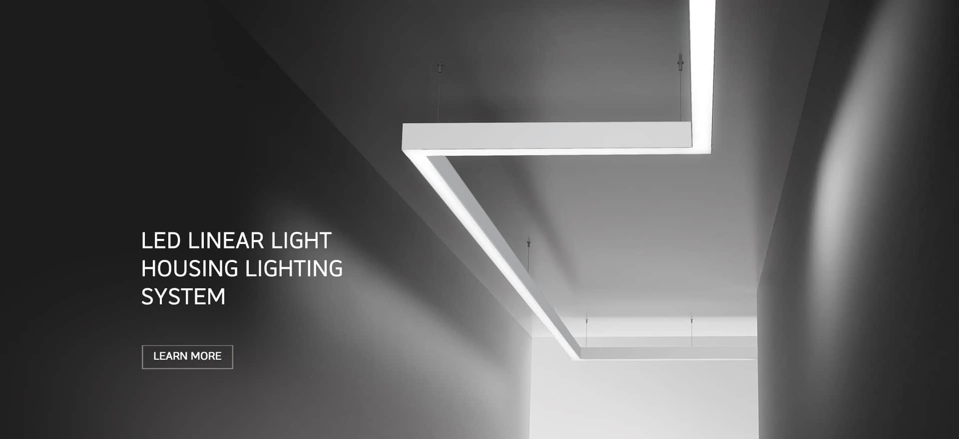 LED LInear Light Profile Surface Mounted Series