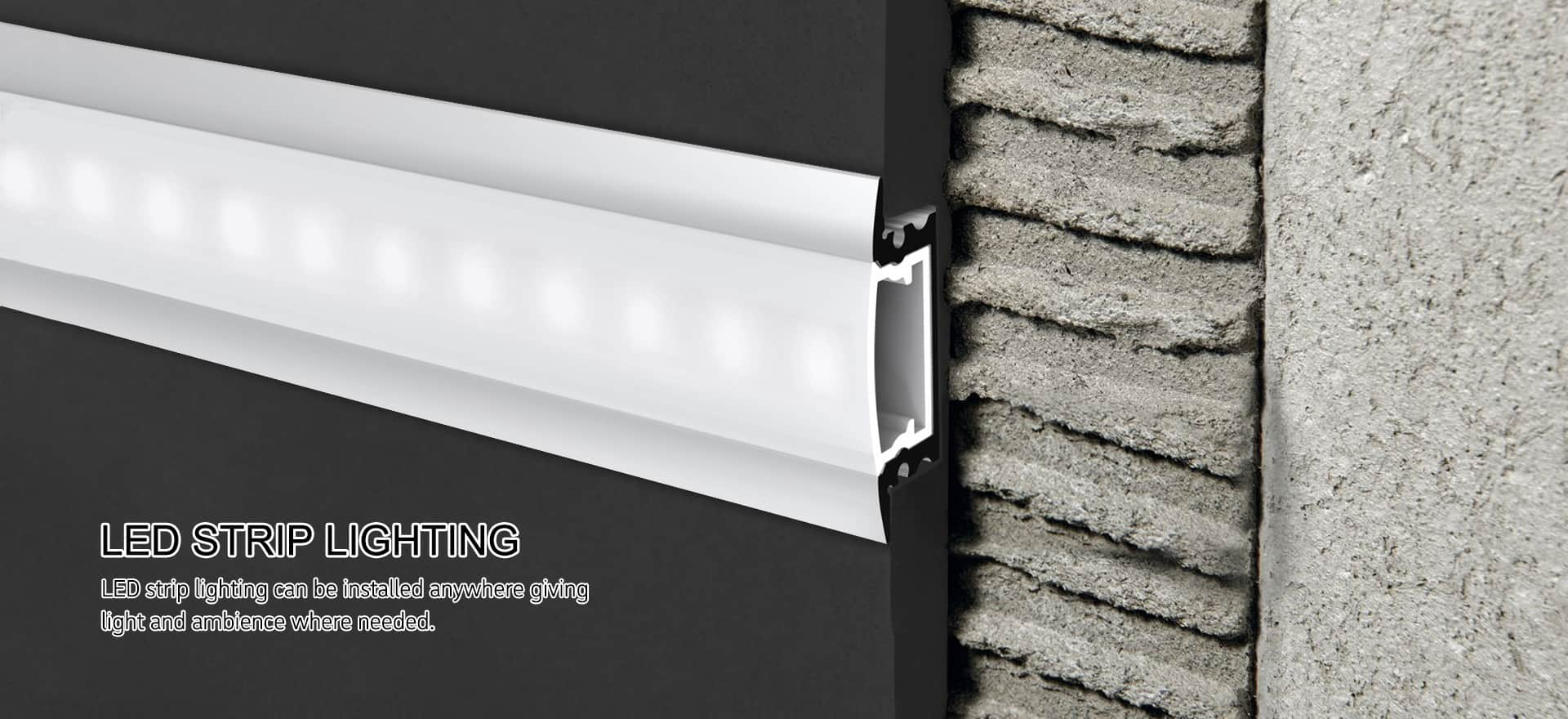 LED Linear Light Profile Recessed Series